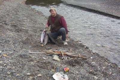 Camping out fish