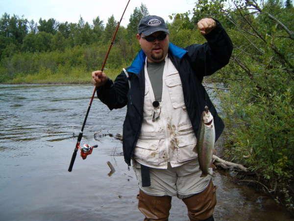 alaskan rainbow trout fish