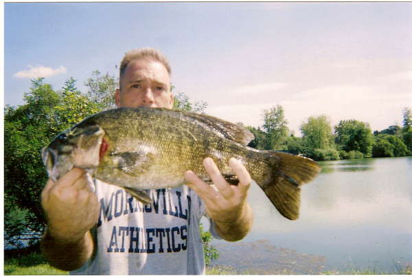 Giant Smallmouth fish