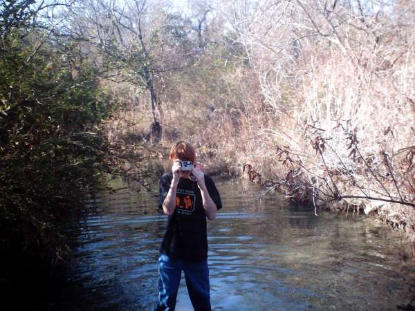 The best way 2 fish is standin in the middle of the creek & fish fish