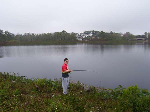 Me fishing fish