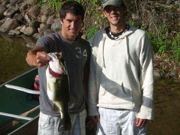 8lb 6 ounce Largemouth Bass fish