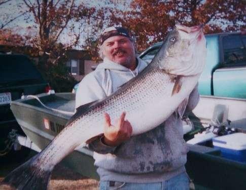 New SC state record striper fish