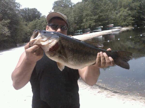 South Jerseys Biggest Bass fish