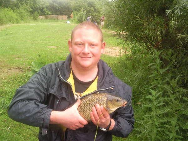 My first carp fish