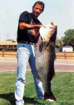 California Record Striper fish