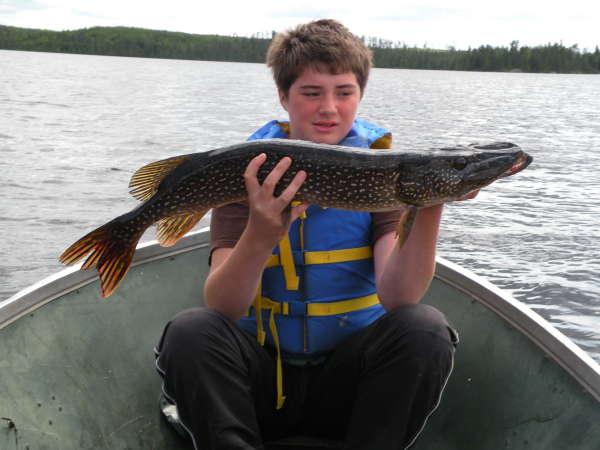 13lb pike fish