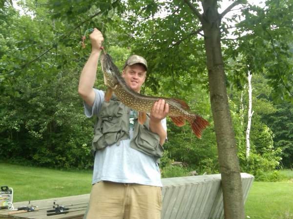 lake miramichi pike fish