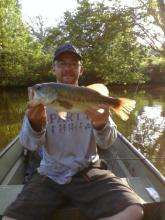 18 1/2 inch Largemouth fish
