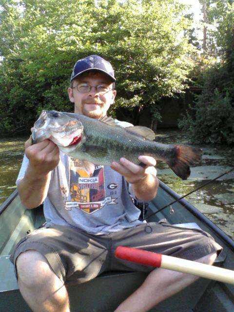 18 inch Largemouth fish