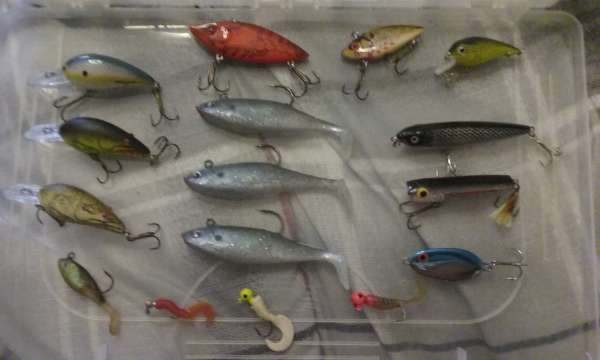 My lure collection fish