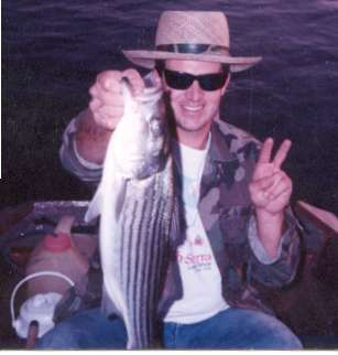 Striper Fun Merced River fish