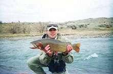 Wyoming Cutt fish