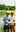 15 lbs kansas carp fish