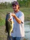 same friend, giant bass fish