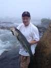 37 inch striped bass fish