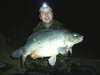 22lb 4oz mirror carp fish