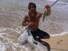 Tongan Crescent Perch fish