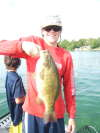 nice smallmouth bass fish