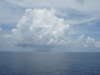 Clouds at sea fish