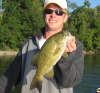 """SMALLMOUTH BASS 19 1/8"""" fish"""