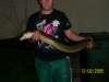 big eel from tassie fish