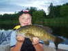 Scugog River Smallie fish