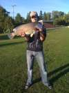 Freshwater Drum from hot spot fish