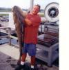 56 lb COD fish