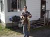 pickeral and a nice northern pike fish